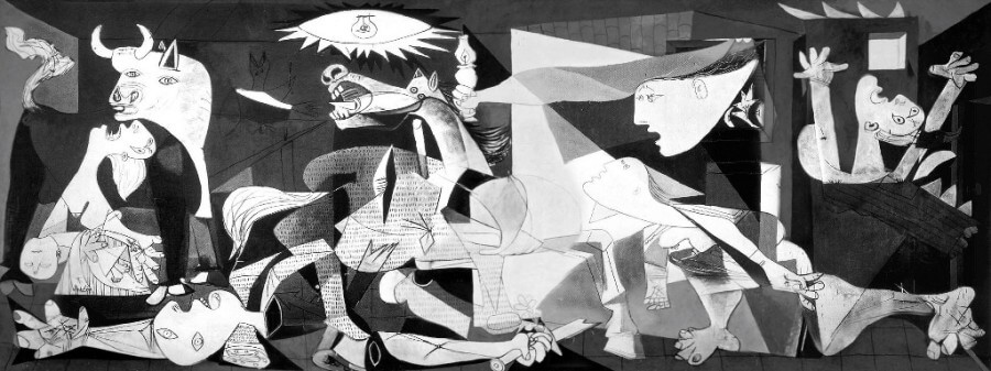 Guernica Picasso, analisi Guernica, Avanguardie storiche, cubismo Picasso