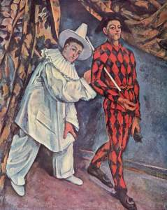 Paul Cézanne, Pierrot and Harlequin, 1888