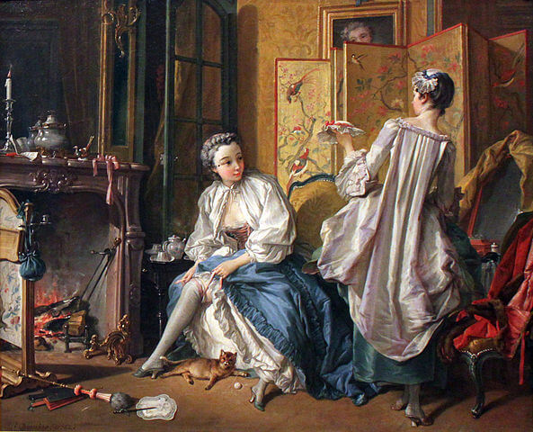Boucher, La Toilette, 1742