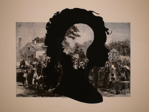 Kara Walker - Exodus of Confederates from Atlanta Photo credit:  flickriver.com