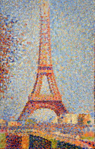 Georges Seurat, Eiffel Tower, 1889