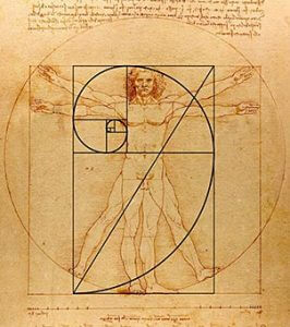 Leonardo da Vinci, Uomo Vitruviano. Photo credit: Ecosistema-magazine.it