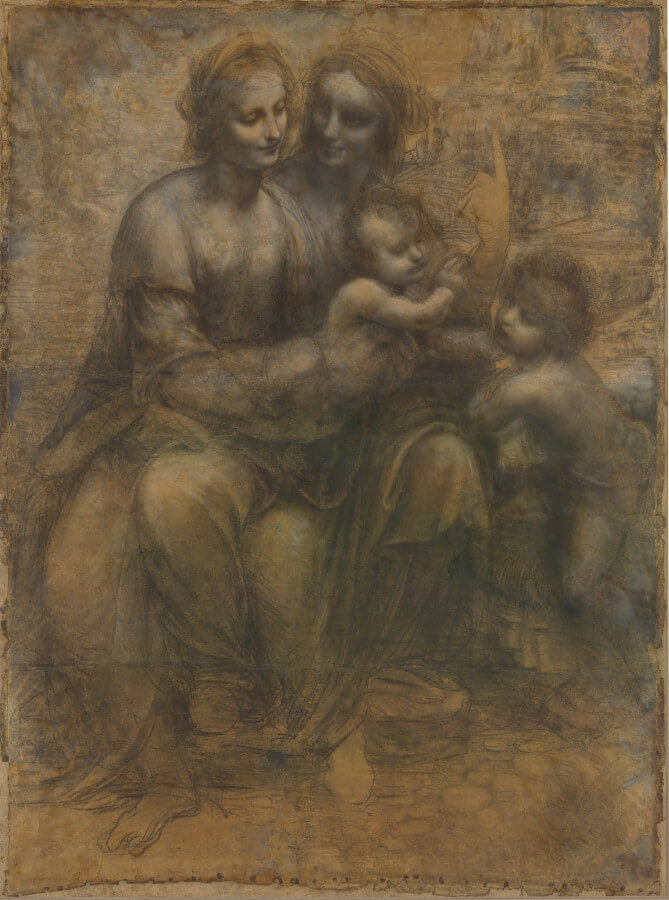 studio preparatorio per SantìAnna 1501-1505