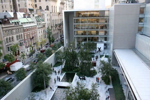 museo MoMa New York cortile interno