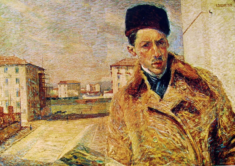 U. Boccioni, Autoritratto credit frammentiarte.it