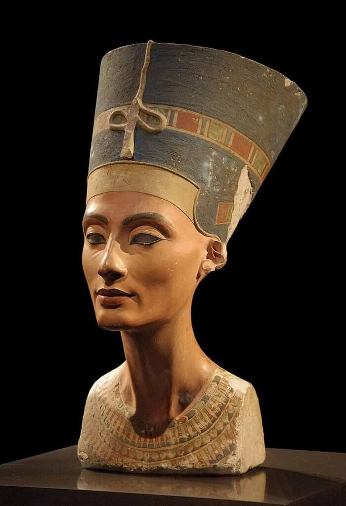 busto di nefertiti neues museum berlino