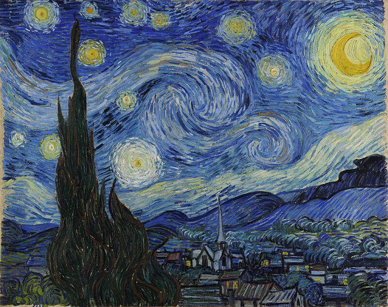 Van Gogh La notte stellata