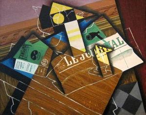 Collage nella storia dell'arte, collage cubismo, papier collé
