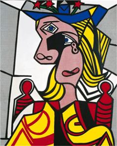 tecnica artistica Lichtenstein