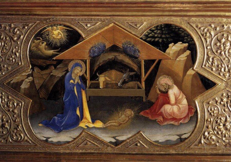 Natività Giotto, natale nella storia dell'arte
