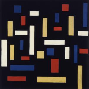 Theo van Doesburg, Composizione VII Le tre Grazie, 1917
