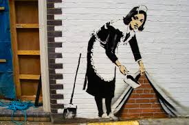 Bansky, Maid in London, Londra, 2006