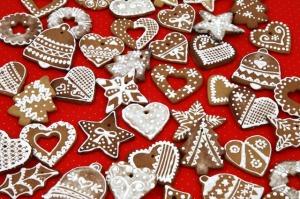 I biscotti decorati.
