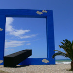land art e natura finestra sul mare