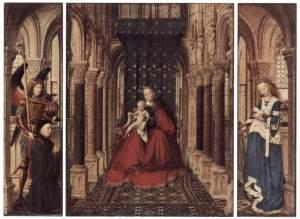 Jan Van Eyck, Trittico di Dresda, 1437