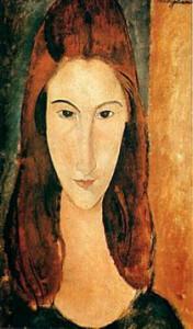 Amedeo Modigliani, Jeanne Hebuterne, 1919