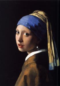 Johannes Vermeer, La ragazza con l'orecchino di perla o Ragazza con turbante, 1665