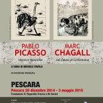mostre a Pescara, Picasso e Chagall, attività per bambini a Pescara