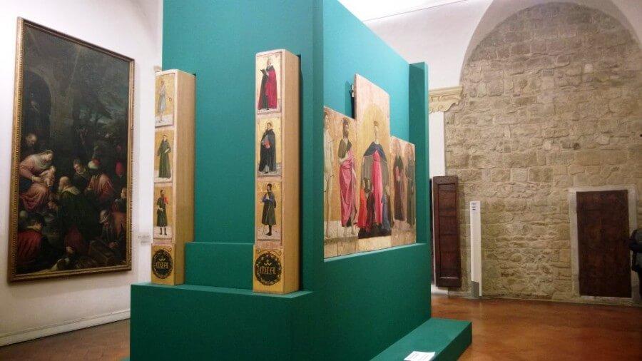 Polittico della Misericordia, Sansepolcro, Piero della Francesca,