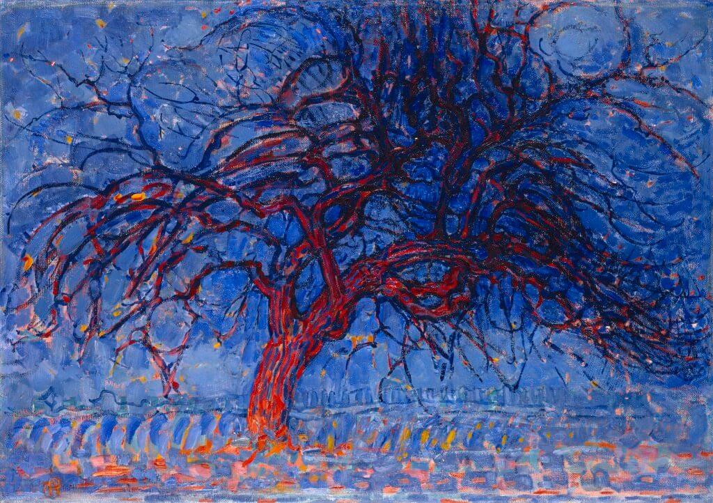 Piet Mondrian, Albero rosso, 1908-1910