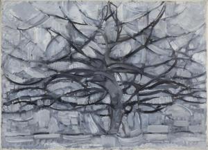 Piet_Mondrian,_1911,_Gray_Tree_(De_grijze_boom),_oil_on_canvas,_79.7_x_109.1_cm,_Gemeentemuseum_Den_Haag,_Netherlands