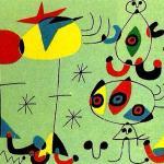 opera di mirò artista spagnolo surrealista