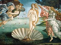 Sandro Botticelli, Nascita di Venere, 1484-86