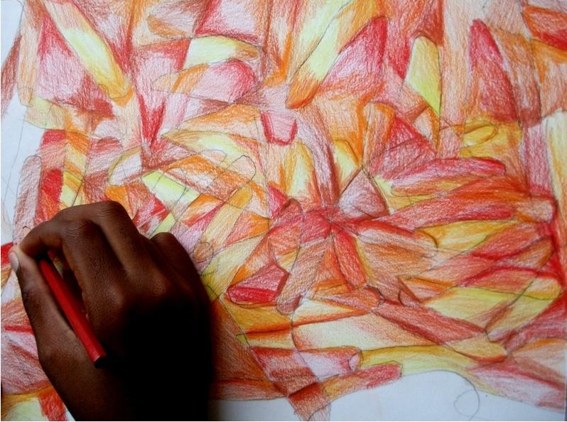 lezione di arte e immagine alle medie