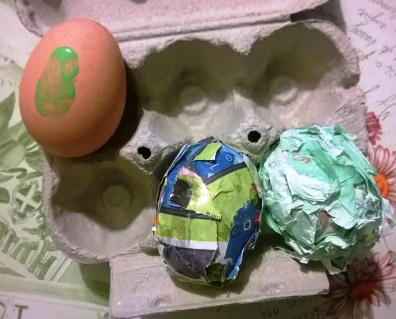 Uova decorare per Pasqua