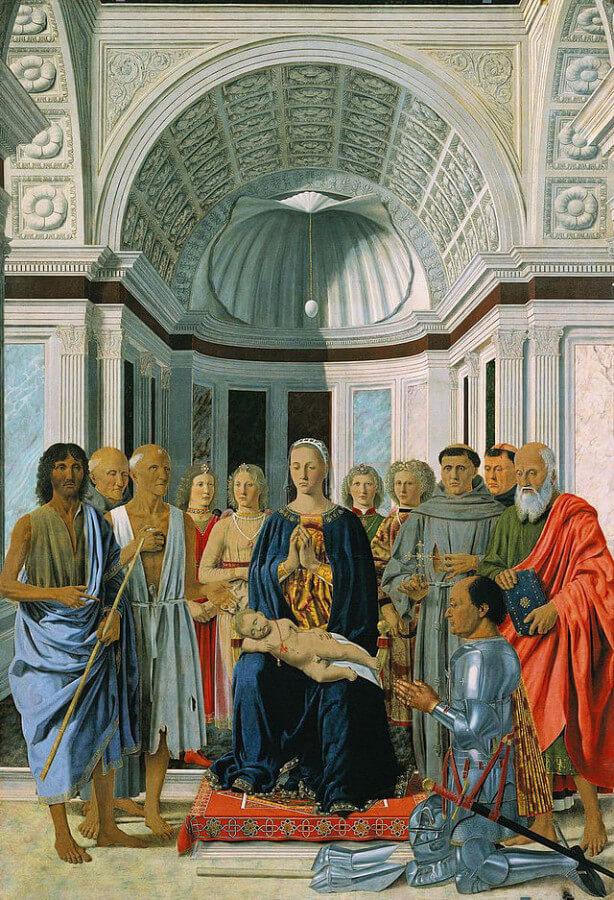 Piero della Francesca, l'uovo della Pala di Brera