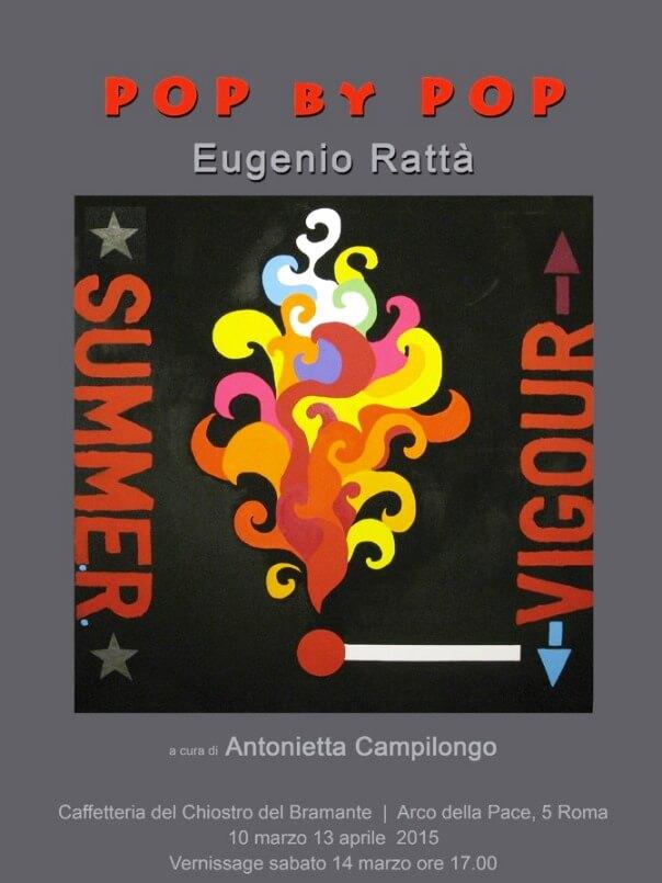 mostre gratis a Roma, Eugenio Rattà, Antonietta campilongo, arte pop