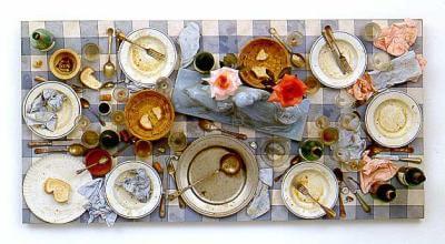 Assemblage, cibo nell'arte