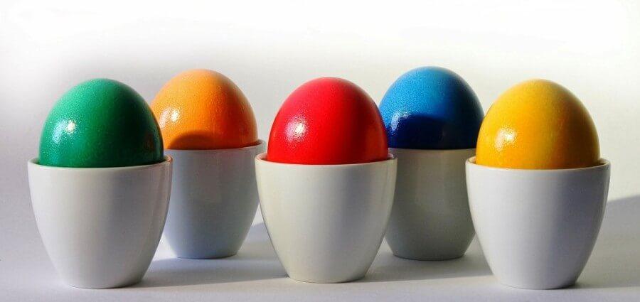 lavoretti di Pasqua, uova decorate, lavoretti per bambini