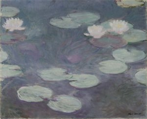 C. Monet, Ninfee rosa, 1897-99