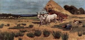 G. Fattori, Pausa in Maremma, 1873