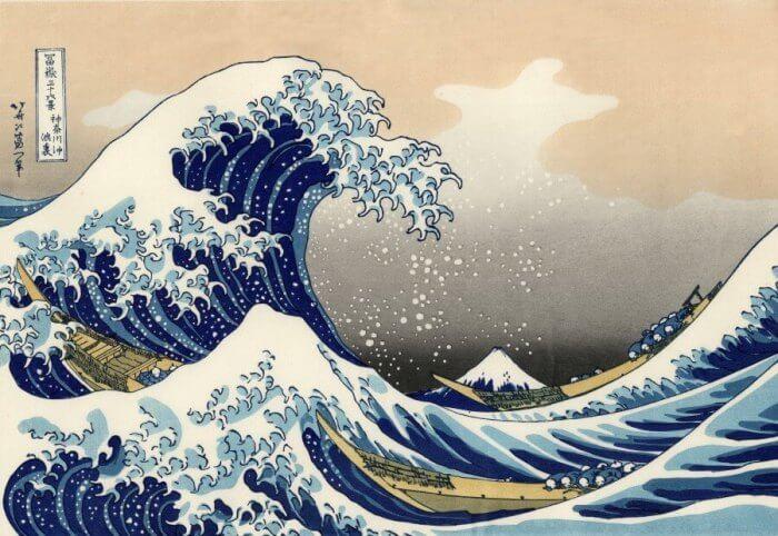 grandi mostre a Milano con la grande onda di hokusai