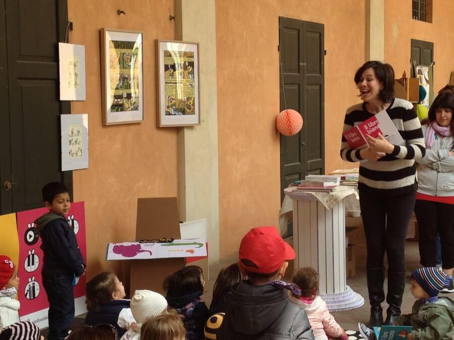 letture animate al festival della letteratura per l'infanzia