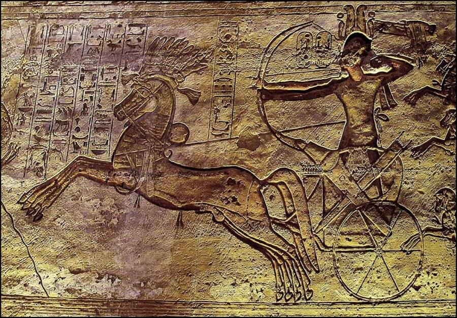 rappresentazione del movimento nell'antico Egitto