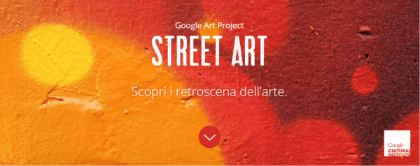 logo di google street art project