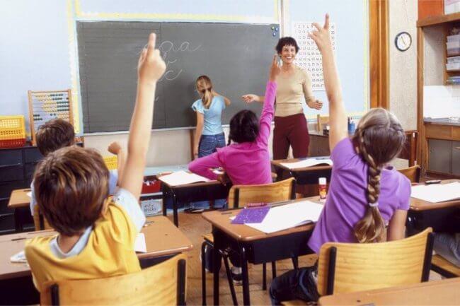 domande dei bambini durante le lezioni