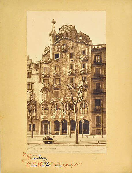 Barcellona in una foto d'epoca in mostra a ferrara