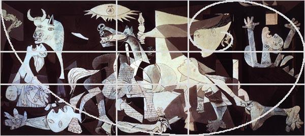P.Picasso, Guernica, 1937 Photo credit: Cultorewb.com