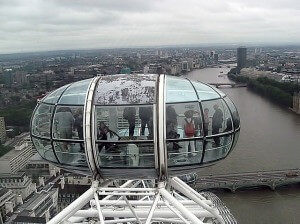 Una cabina del London Eye