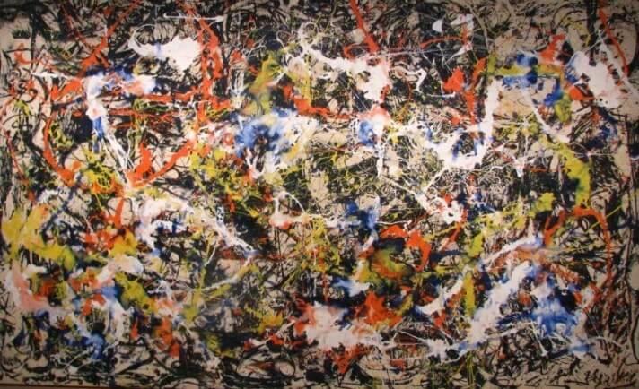 Jackson Pollock, Convergence, 1952