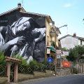 street art Gomez a Selci