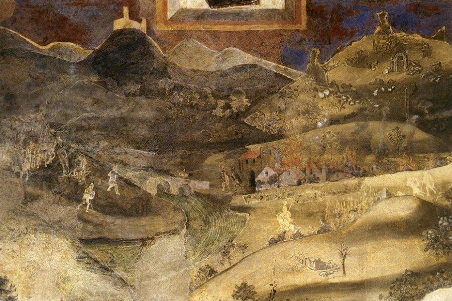 Palazzo Pubblico Siena, il buon governo di Lorenzetti