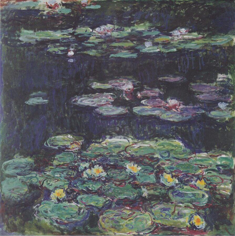 impressionismo di Monet, le ninfee