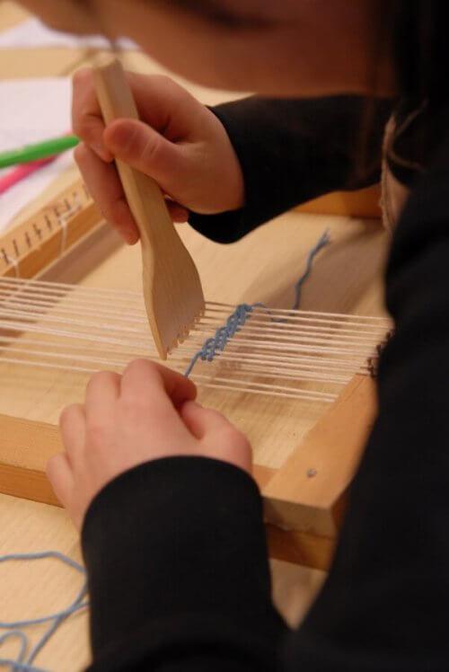 laboratorio sulla tessitura musei del trentino