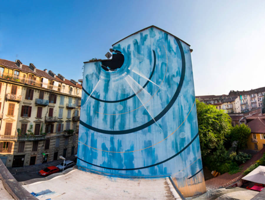 Blu cereblale Corn79 a Torino