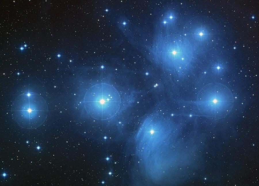 le stelle, punto nella natura